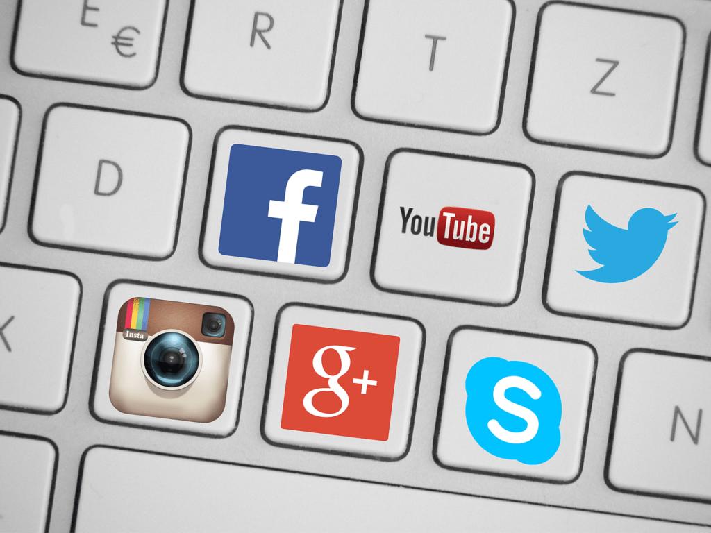 Media społecznościowe używane w marketingu internetowym